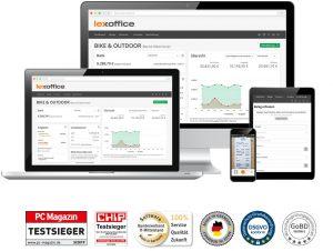 Lexoffice, CODE.3 ERP für kleine und mittelständische Unternehmen